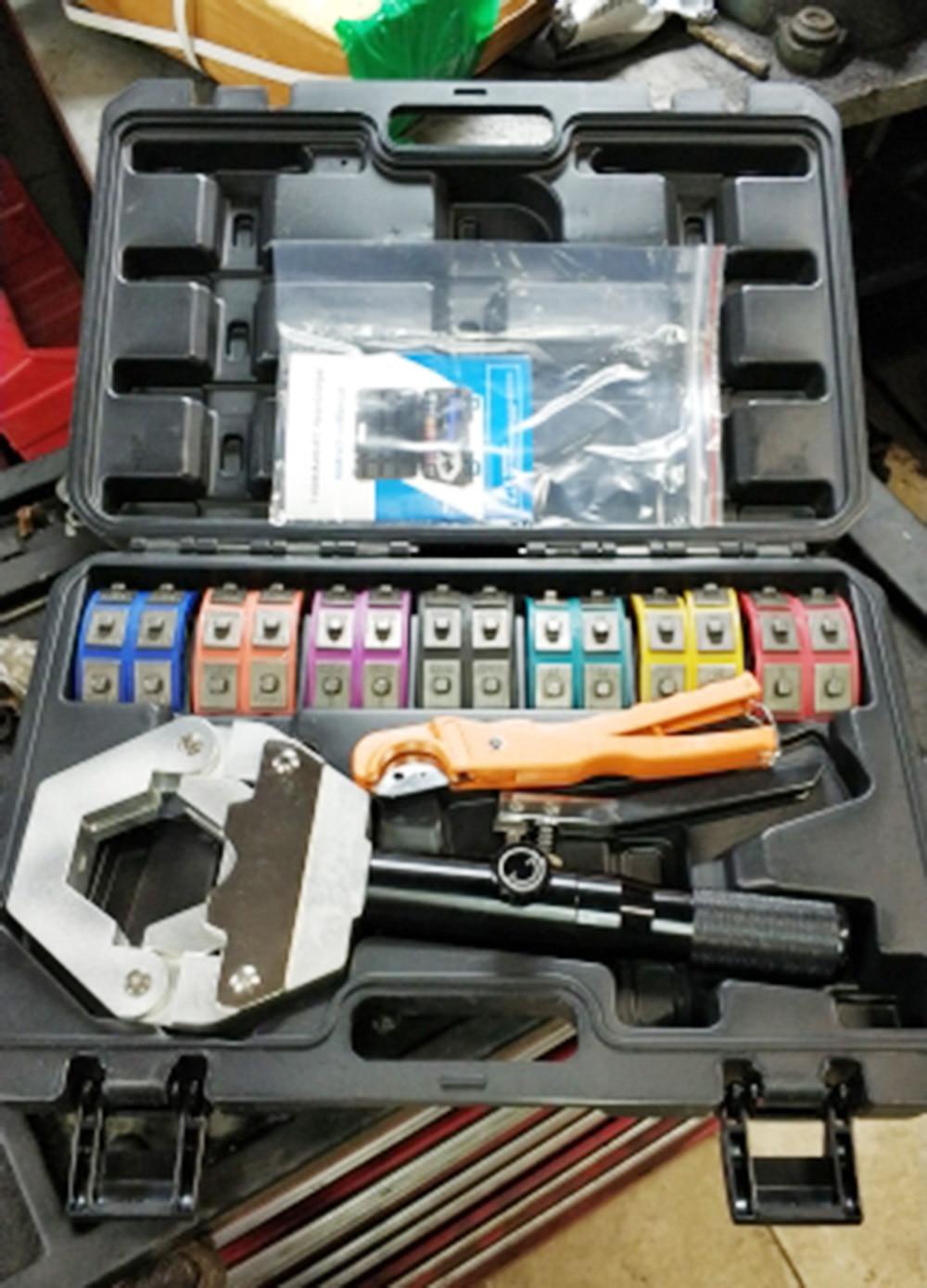 71500 Hydra-Krimp Black A//C Hose Crimper Kit Hose Fittings Crimping Tool Set