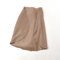 HOT SELLING Three dimensional curved lace elastic waist pleated skirt pleated skirt IN STOCK