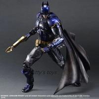 Bat Man PlayArts Kai Action Figures Arkham Knight 270mm PVC Anime Model Toys Batman Play Arts Kai Arkham Game Toy kb0331