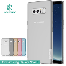 for Samsung Galaxy Note 8 Nillkin TPU 0.6mm Ultra thin Back Cover Phone Cases Silicone Cover Crystal for Samsung Note 8 Case