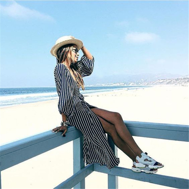 Striped Beach Tunic