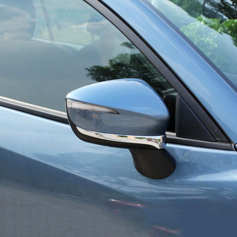 For Mazda CX-5 CX5 2017 2018 Chrome Rear Tail Window Rain Wiper Arm Cover Trim
