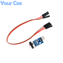 2 pcs Car Helicopter Crash Collision Sensor Impact Switch Module Robot Model For Arduino with Dupont Cable