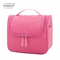 Hot High Quality Women Travel Hanging Makeup Bag Waterproof Toiletry Bags Multifunction Solid Korean Style Cosmetic