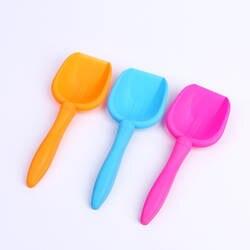 1 шт. пляжные игрушки Лопата дети играют карамельный цвет 17 см инструмент для дноуглубления PP материал Упражнение действие головоломки