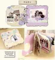 אלבום DIY Scrapbook פופל חליפת הילדה ילדים אלבומים תמונות נייר מדבקת ערכת סרט חתונה רעיונות אלבומים תמונות מאהב סט