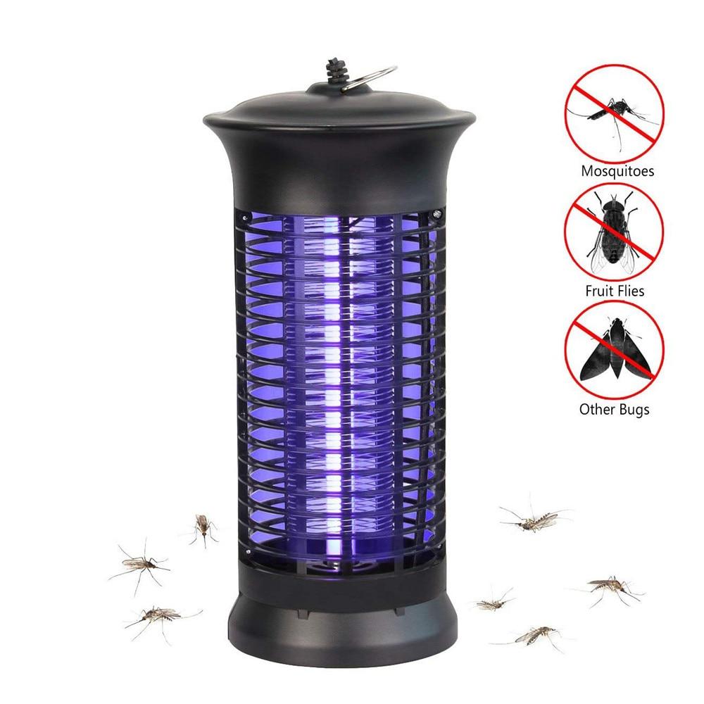 4W 6W Led Mosquito Killer Lamp EU Or US AC100-240V Night Light UV Purple Bug Zapper Pest Bug Killer Trap Garden,Patio,Travelling
