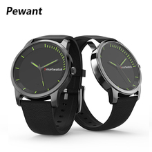 Pewant S68 Relógio Inteligente Apoio Controle Remoto Bluetooth Smartwatch À Prova D' Água 30ATM Aptidão Rastreador Relógio de Pulso Para iOS Android