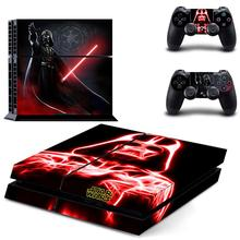 PS4 Skin Sticker New Star Wars Cove Decal For Playstation 4 Console & 2 Controllers Decorative Skins