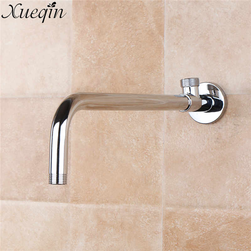 xueqin shower arm wall ceiling mounted shower fixed pipe shower head extension arm bathroom. Black Bedroom Furniture Sets. Home Design Ideas