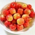 20pcs Mini Artificial Apple Fruit Kitchen Party Home Decor Photo Pros