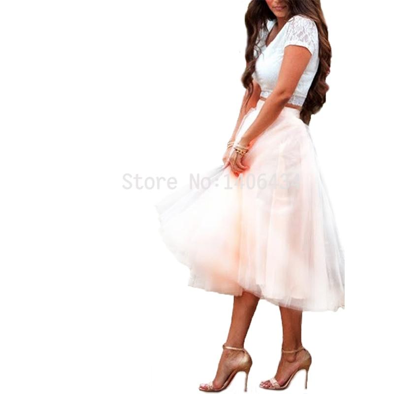Ali woman Store  women Tulle Skirt  High Waist Tutu Skirts Womens Lolita Petticoat 2017 Faldas Saia Jupe