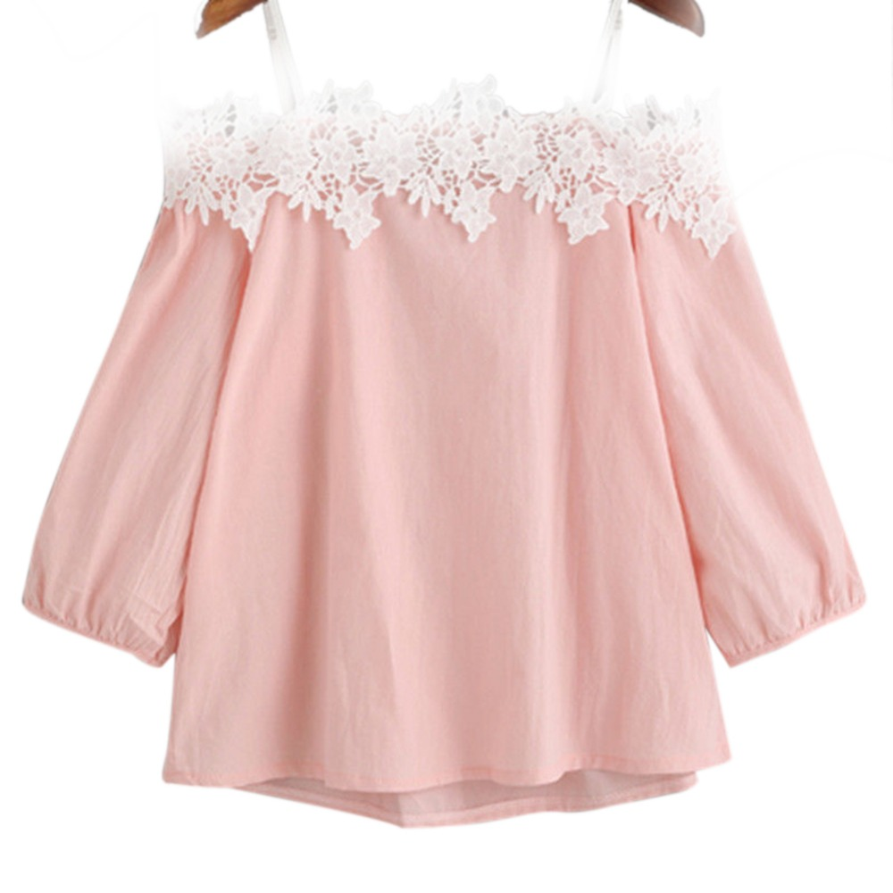 Popular Lace Blouses Tops-Buy Cheap Lace Blouses Tops lots from ...