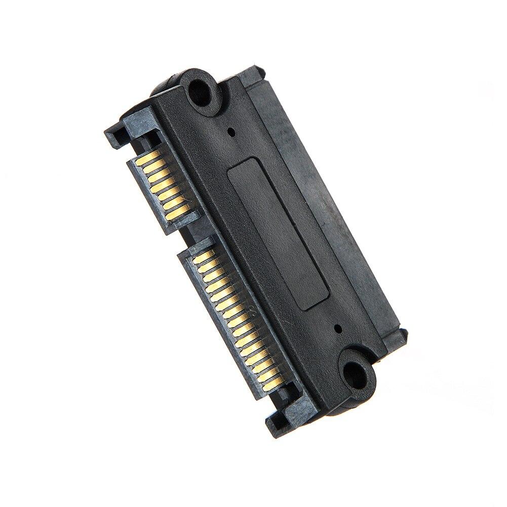 1 Pieces SATA 22 Pin 7+15 Pin Male Plug To SATA 22P 7+15P Female Jack Convertor Adapter