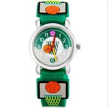 Marque Quartz Montre-Bracelet Bébé Pour Filles Garçons Étanche Enfant Montres basket-ball pour Enfants Mode Casual Reloj