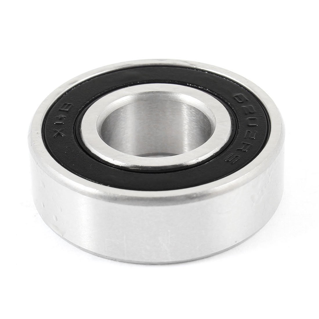 WSFS Hot 2Pcs <font><b>6202RS</b></font> 15mm Inner 35mm Outer Single Row Deep Groove Ball Bearing image