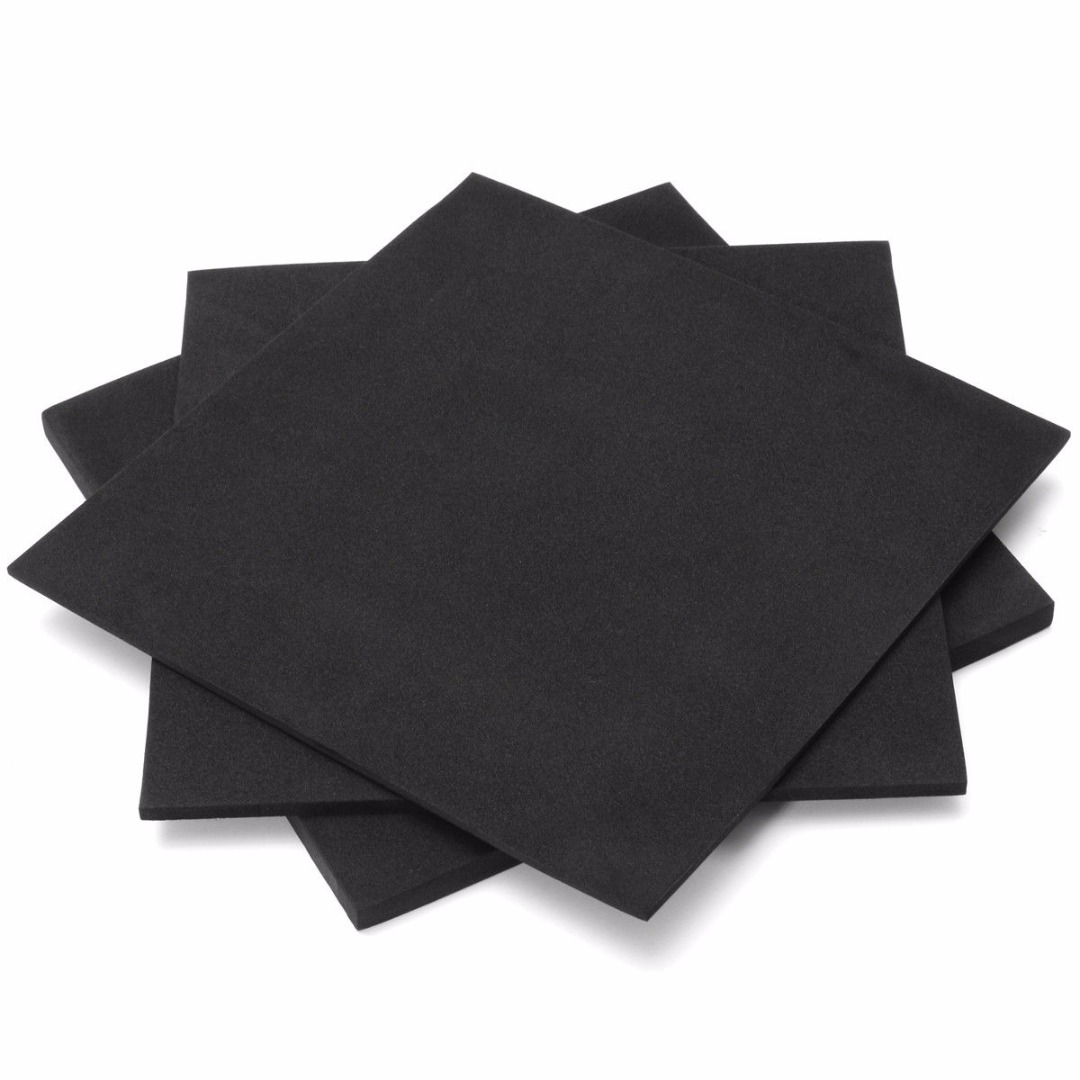 3/5/10 Mm ESD Anti Static High Density Foam Antistatic Insertion Sound-Absorbing Noise Sponge Foam 200x200mm