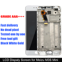 100 New Meilan 3S LCD Display Digitizer Touch Screen Assembly Replacement For Meizu M3S Mini Phone
