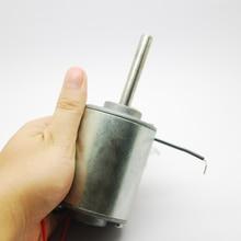 1PC Double ball bearing DC motor long axis DC12V 3300RPM cotton sugar motor