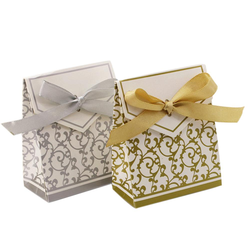 10PCs Wedding Fold Candy Package box Personality Box Gift Candy Boxes Wedding Party L50