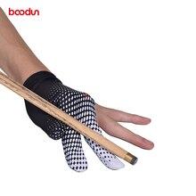 BOODUN 1 шт. 3 пальца кий бильярдная перчатка для мужчин и женщин спортивные перчатки бильярдные стрелочки справа налево Сменные снукер перчатки
