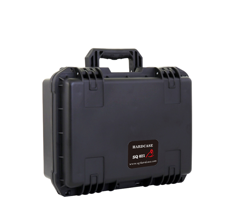 SQ021 black anti-corrosion plastic tool case with full precut cubes foam full cube precut foam for case sq1284 without the hard case