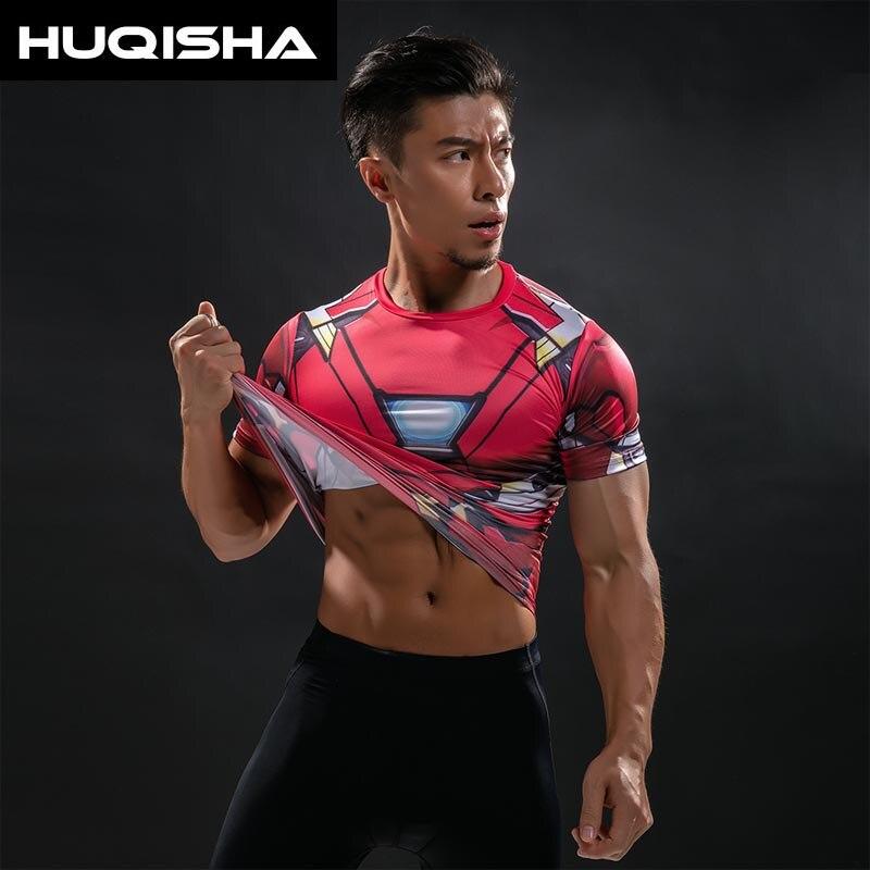 Majica Falcon majica Captain America kompresijska majica 3D - Moška oblačila - Fotografija 1