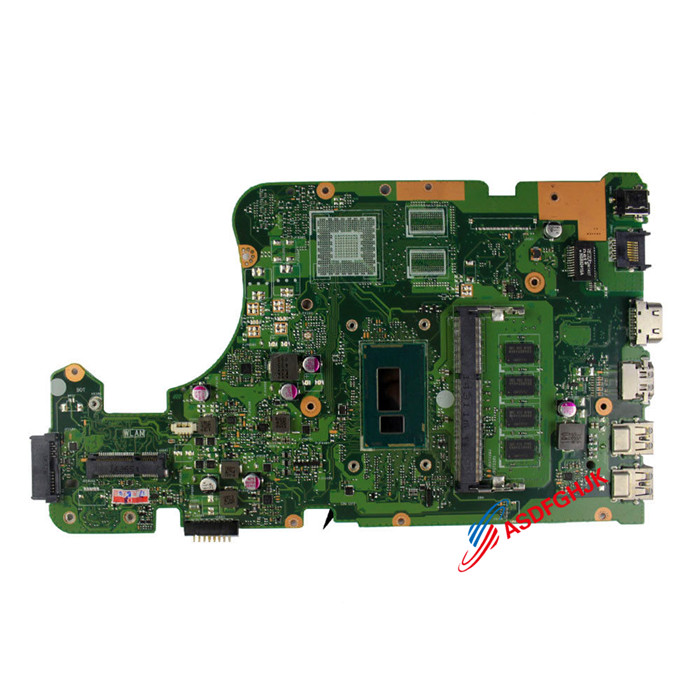 Original X555LA Motherboard For ASUS A555L K555L X555L X554L X555LD Mainboard WITH I5-4210U CPU Fully Tested