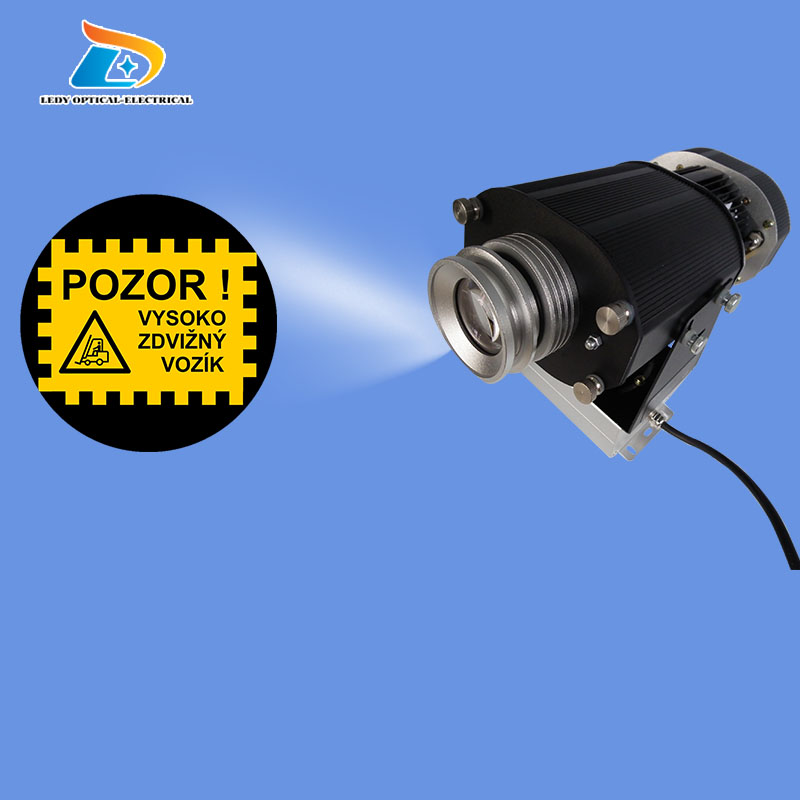 China Professional High Quality Large 80W LED Gobo Projector Indoor Large Gobo Projector Gobo LED Logo Projector Light