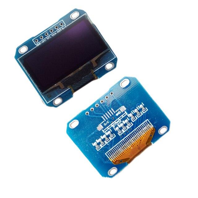 "6 pin 1.3"" OLED Module White Blue SPI 128X64 1.3 Inch OLED LCD LED Display Module 1.3"" SPI Communicate for arduino Diy Kit"