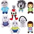 Undertale Sans Papyrus Asriel Toriel Temmie Frisk Chara Undyne Stuffed Doll Plush Figure Toy
