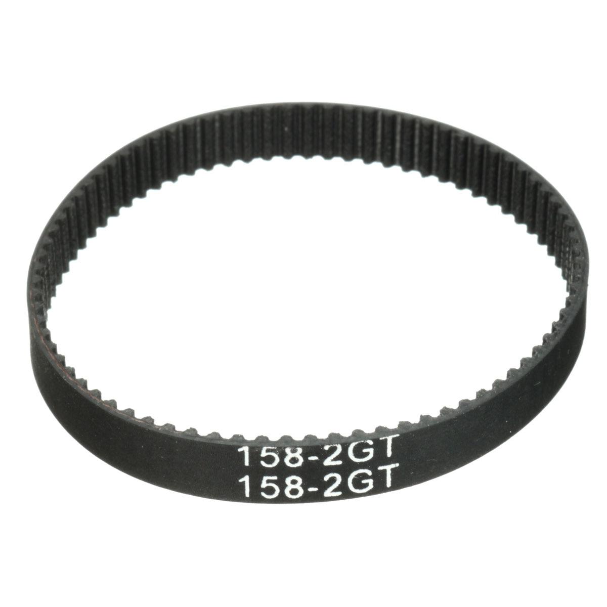 158-GT2 bucle correa de distribución anchura 6mm de correa GT2 Goma de Fibra de