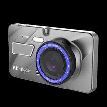 WIIYII HD 4 дюймовый Dash Камера FHD 1080P G-Сенсор широкий угол обзора 170 градусов Видеорегистраторы для автомобилей мониторинга Dash Cam