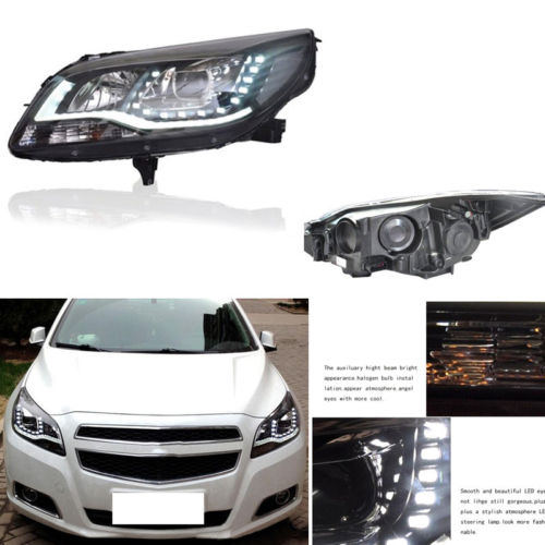 <font><b>LED</b></font> Фары для автомобиля монтажный комплект <font><b>bi</b></font> xenon объектив проектора для Chevrolet Malibu