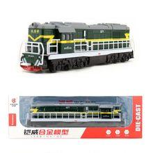 /литая под давлением игрушечная модель/Китайский классический DongFeng 5271 Паровозик/оттягивающий/звук и светильник/классический автомобиль