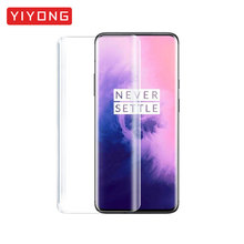 YIYONG 5D Full Cover Glass For One Plus 7 Pro Tempered Glass For OnePlus 7 Pro Screen Protector OnePlus7 Pro OnePlus 7Pro Glass