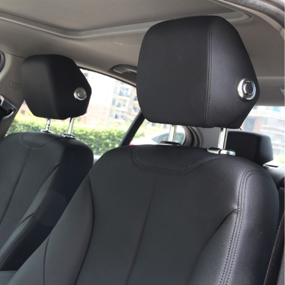ABS Chrome Head Rest Switch Cover Trim Sticker For BMW 3 Series F30 316i 320li 328i 2013-2017 Car Accessories Styling полуось на bmw 316i в беларуси