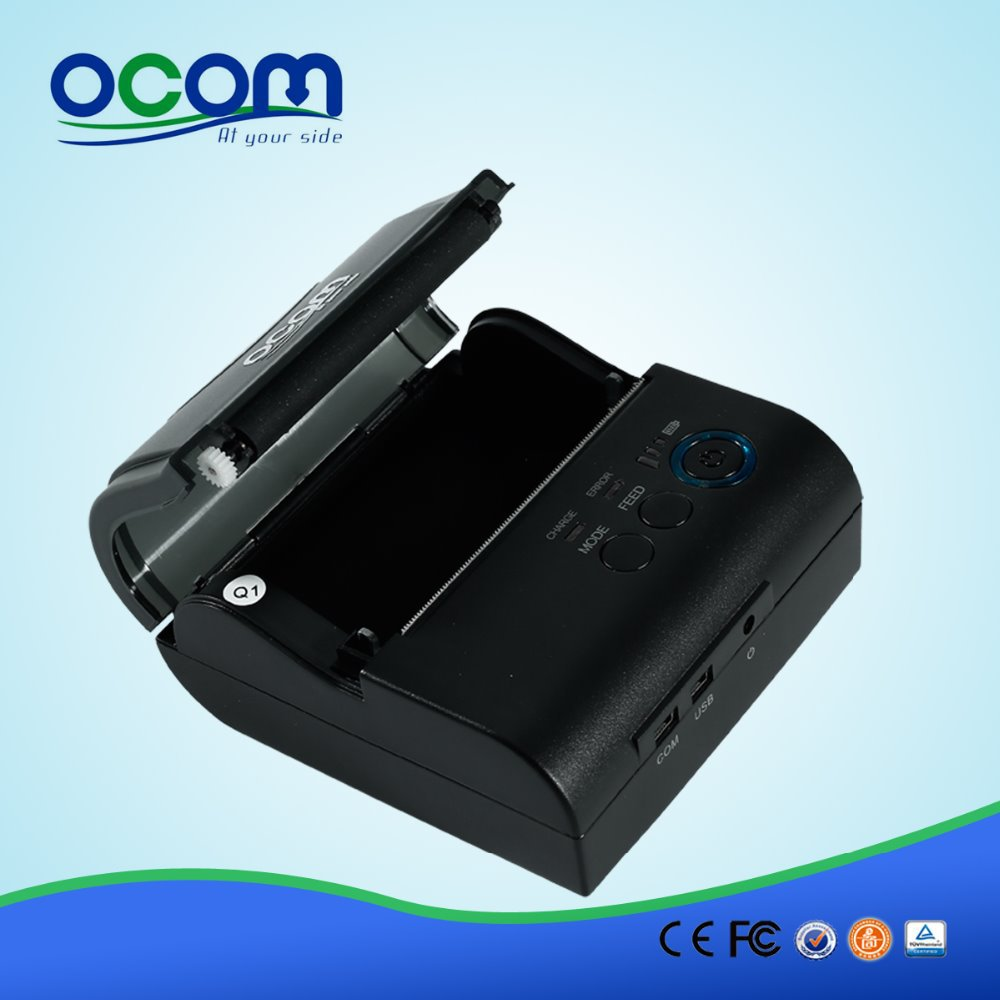 80MM mini Bluetooth Thermal Receipt Printer For Android(OCPP-M082) serial port best price 80mm desktop direct thermal printer for bill ticket receipt ocpp 802