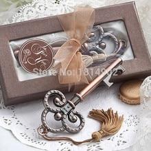Antique Victorian key Bottle Opener 10PCS/LOT wedding favors guest gift for