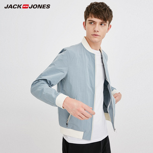 Image 2 - Jack Jones Mens Baseball Collar Jacket Bomber Jacket Short Coat 218321548