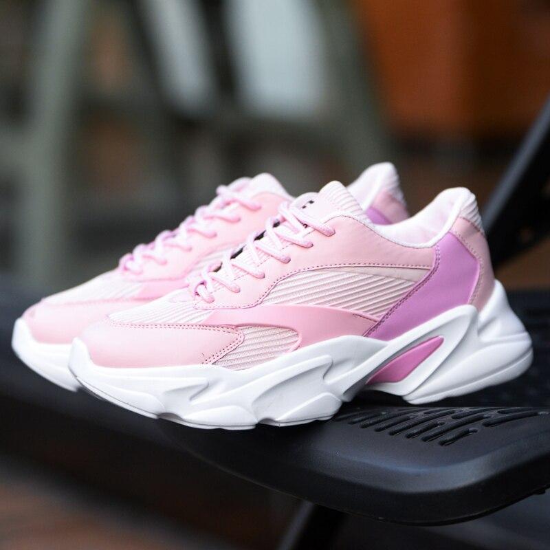 Mocassins Mujer pink Chaussures Occasionnels Lumière Dames Incendies Maille white Nouveautés Mode Black Femmes Noir Fraîches Respirant Sneakers qOwqBHZXx