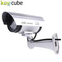 IR Simulat Fake Dummy Camera Security Surveillance CCTV Red Flashing Outdoor Indoor Wireless Waterproof Fake Camera