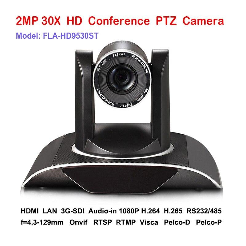 30x DVI 3G SDI IP RJ45 прямые трансляции PTZ камера аудио и видео сигналов Более ни одного Ethernet кабель