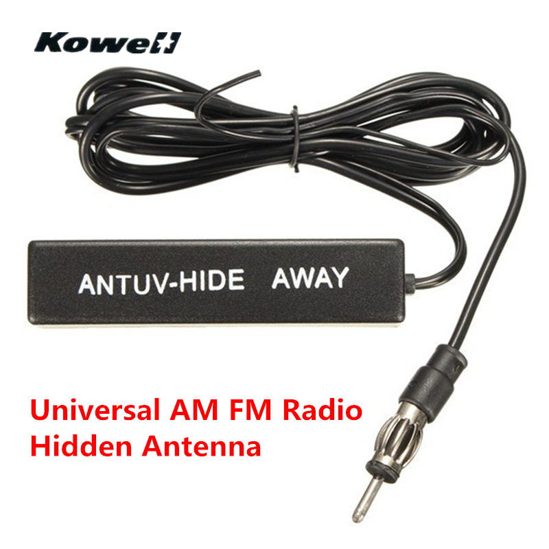 KOWELL Universal Car Auto Stereo FM AM Radio Electronic Hidden Antenna Aerial Amplified for Lada for Volkswagen VW Golf Bora RIO