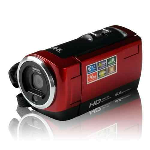 "2.7"" TFT LCD 16MP HDV-107 Digital Camera HD 720P Photo Video Camcorder 16X Zoom Anti-shake DV LED Fill Light Non-touch Camera"