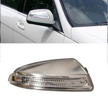 Для Mercedes W204 C250 C300 C350 C63 дверной зеркальный указатель поворота желтый свет A2048200821