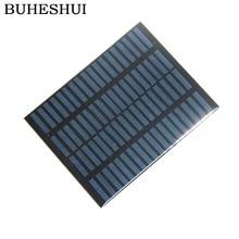 BUHESHUI Epoxy 1.5W 18V Polycrystalline Solar Panel Module Solar Cells DIY Solar System Education 140*110MM 10pcs Free Shipping