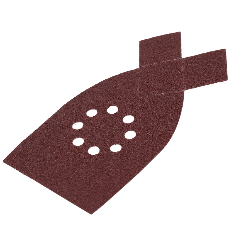 High Quality 50pcs Sander Sanding Sheets Grit Sandpaper For BLACK & DECKER KA220G KA230