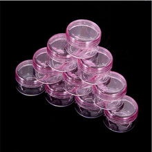 5 шт. 5 г портативная Косметическая пустая банка горшок тени для век Чехол Контейнер для макияжа и крема для лица коробка косметические прозрачные бутылки аксессуары розовый