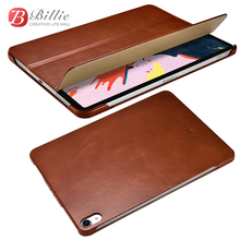 """Smart Magnetic Genuine Leather Case For New iPad Pro 12.9"""" 2018 Slim Business Foldable Stand Smart Cover for iPad Pro 12.9 Case"""